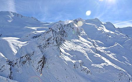 Bergwanderung zur Weisskugelhütte