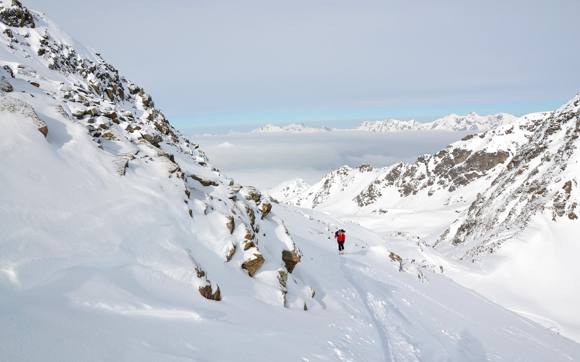 Schneeschuhwandern in Fiss Serfaus Ladis